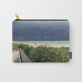 Stormy Sky, Aqua Sea Carry-All Pouch