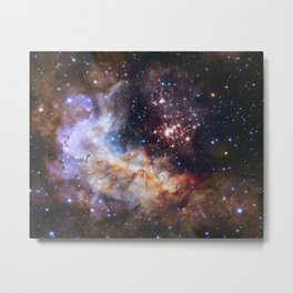 Hubble's 25Th Anniversary  Metal Print