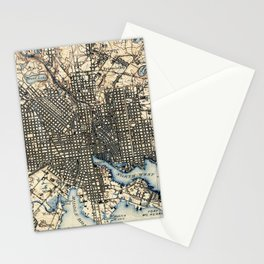 Vintage of Baltimore Maryland (1898) Stationery Cards