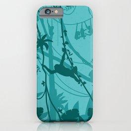 Wild Monkeys iPhone Case