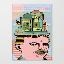 GLAD HATTER 3 Canvas Print