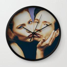 The Schmoopies - Gillian and David Wall Clock