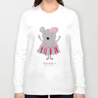 hawaii Long Sleeve T-shirts featuring hawaii by Sucoco