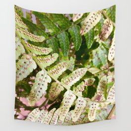 Fern spores Wall Tapestry