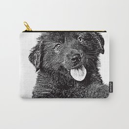 Cute fluffy puppy Carry-All Pouch