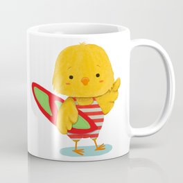 Surf Bird Coffee Mug