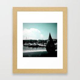 Marina at Keppel Bay, Singapore Framed Art Print