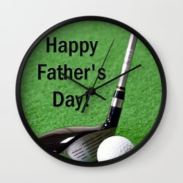 Fathers Day - Enjoy! Wall Clock