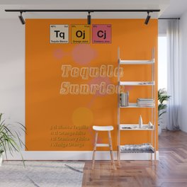 Tequila Sunrise Wall Mural