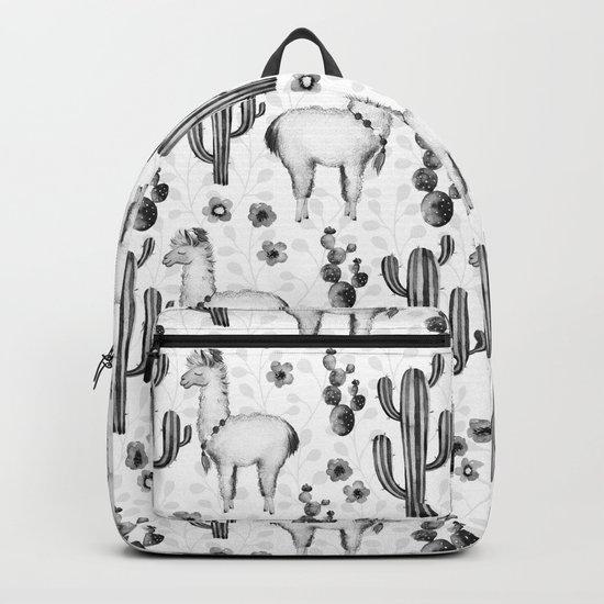 Llama Llamarama + Cactus 2 Backpack