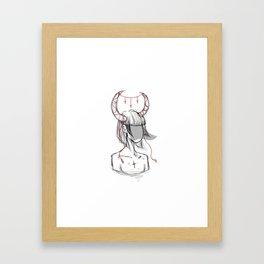 All  powerful Framed Art Print