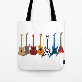 Celebrate variety guitarist guitars gift Tote Bag
