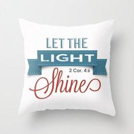 Lighters Throw Pillow