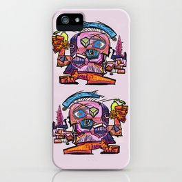 Hector, the Cubist Assassin iPhone Case