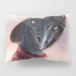 Queen Bess Emu Pillow Sham