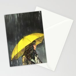 All Upon the Downtown Train Stationery Cards