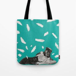 Kicks & Kittens Tote Bag