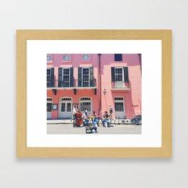 Brennan's Buskers Framed Art Print