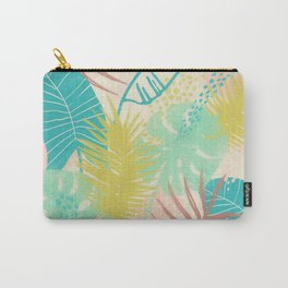 Leaves Palm Tree1 Pattern Carry-All Pouch