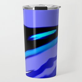 Whale Abstract Art by Saribelle Rodriguez Travel Mug