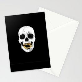 Snake Skin Skull Stationery Cards
