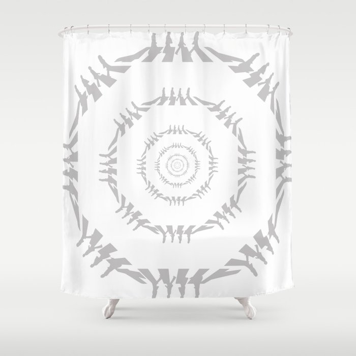 ABBY LANE CIRCLE Shower Curtain by mdrmdrmdr | Society6
