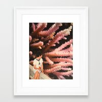 aquarius Framed Art Prints featuring Aquarius by Djuno Tomsni