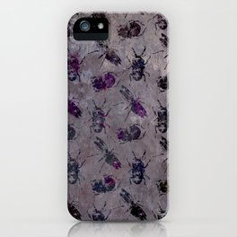 violet bugs iPhone Case