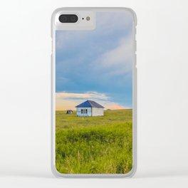 Palmgren Township School, North Dakota 5 Clear iPhone Case