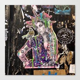 Rehab Amy Graffiti in New York City Canvas Print