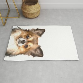 Chihuahua Portrait Rug
