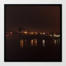 Water at night. Canvas Print