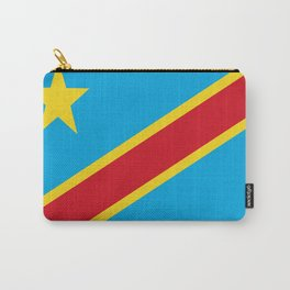 Flag of Democratic Republic of the Congo Carry-All Pouch