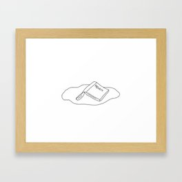 VOULEZ VOUS COUCHER AVEC MOI? Framed Art Print