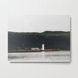 Isle Of Mull Lighthouse Metal Print