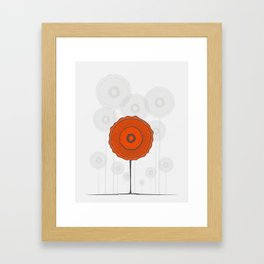 Poppies Poppies Poppies Framed Art Print