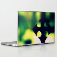 cross Laptop & iPad Skins featuring Cross by Leffan
