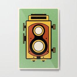 Rolleicord Camera Metal Print