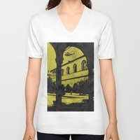 milan V-neck T-shirts featuring Milan 4 by Anand Brai