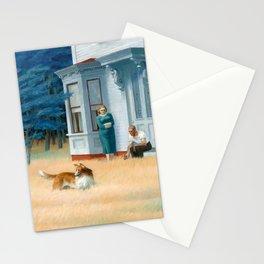 Edward Hopper, Cape Cod Evening, 1939 Stationery Cards
