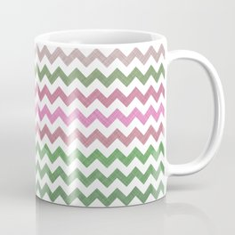 Pink Roses in Anzures 1 Chevron 2T Coffee Mug