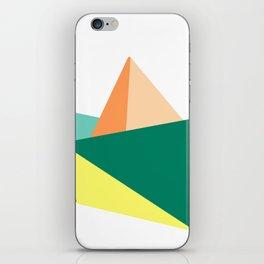 Fune, original colours on white iPhone Skin