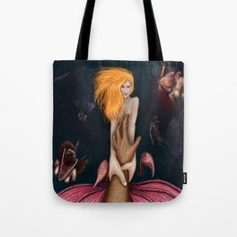 Temptress of the Ocean Tote Bag