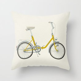 Bicycle Pony - Rog Throw Pillow