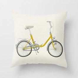 Bicycle Pony - Rog Throw Pillow