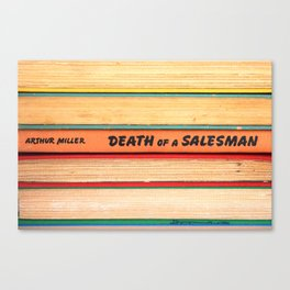 Death of A Salesman Canvas Print