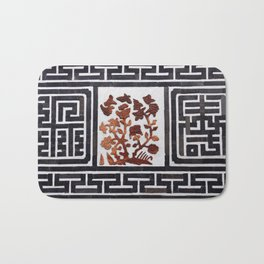 Korean brick wall Bath Mat