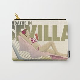 Sunbathe in Sevilla Carry-All Pouch