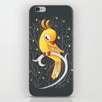 freeminds iPhone & iPod Skins featuring Magic Canary by Freeminds