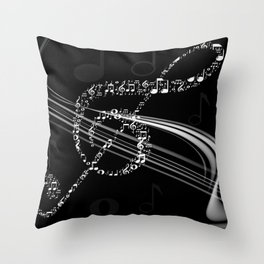 DT MUSIC 8 Throw Pillow